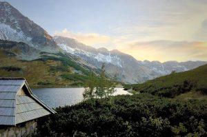 Lake views in Tatra Mountains, Poland