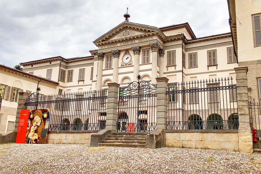 Accademia Carrara in Bergamo, Italy