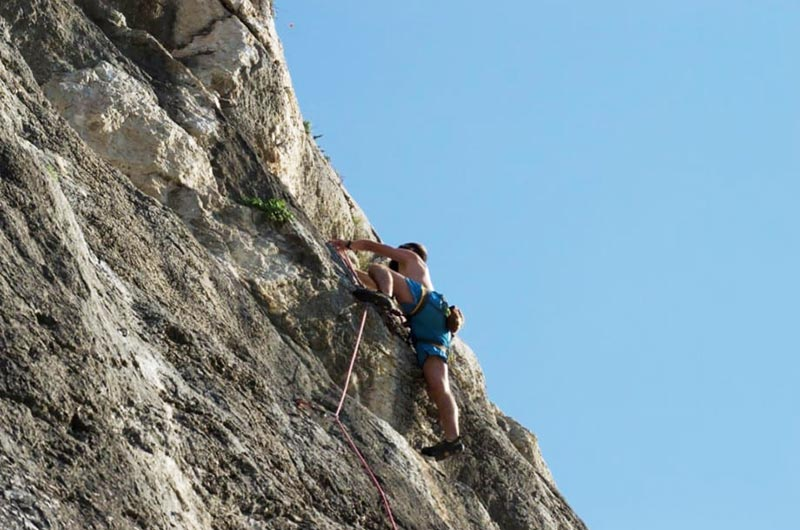 Rock climbing in Mallorca