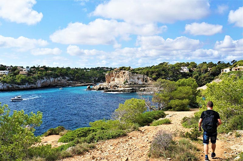 Hiking is the best way to explore Mallorca island