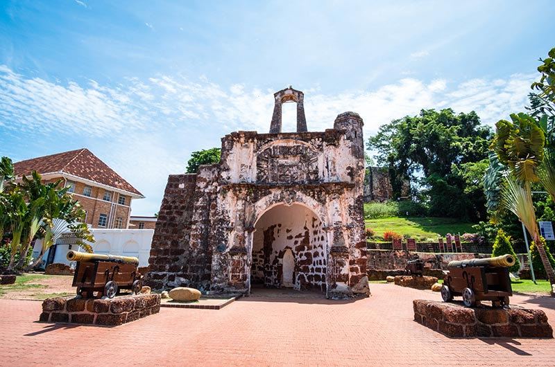 Ancient A Famosa in Malacca