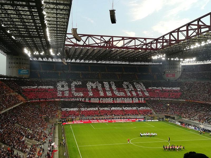 Watch AC Milan at the stadium