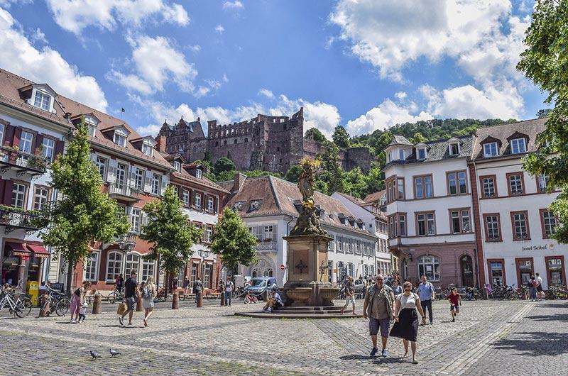 Altstadt – Old Town of Heidelberg