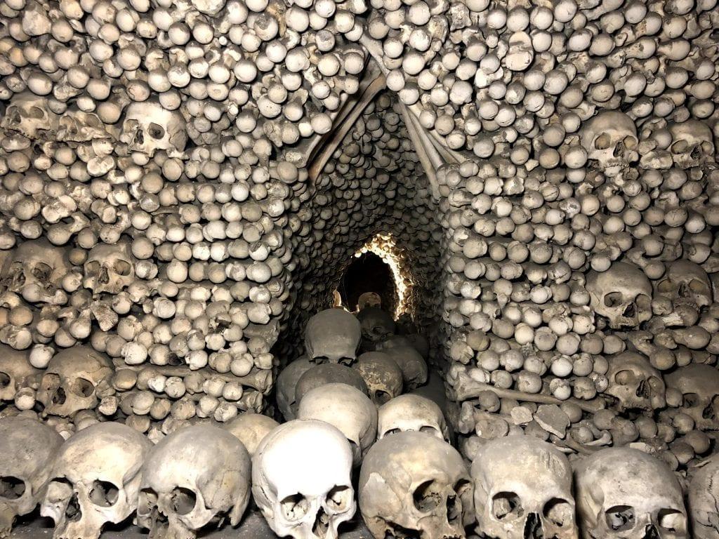 Sedlec Ossuary Bone Wall