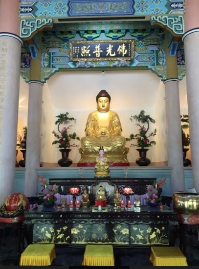 Buddha at Xiangde Temple complex