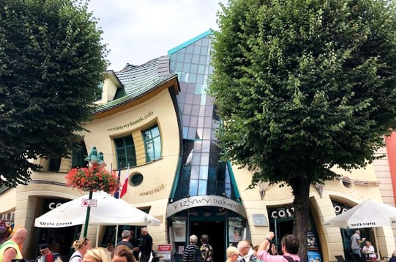 Crooked House in Gdansk