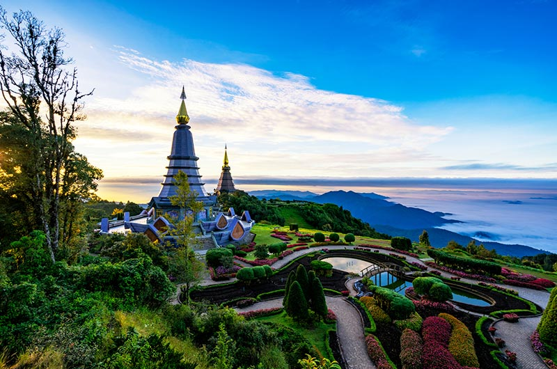 Doi Inthanon National Park in Chang-Mai
