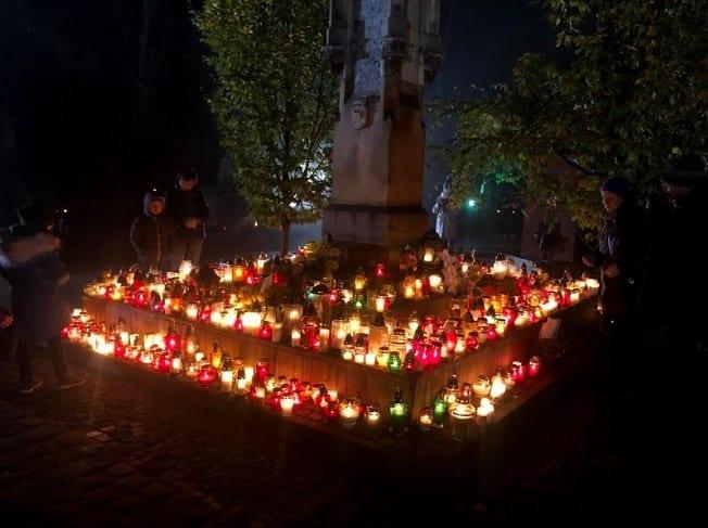 All Saints Day Gravesite