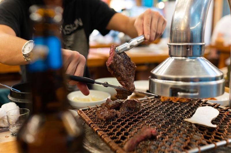 Korean BBQ in Suwon