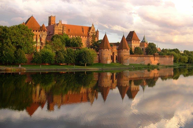 Malbrok Castle near Gdansk