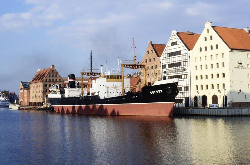 National Maritime Museum in Gdansk