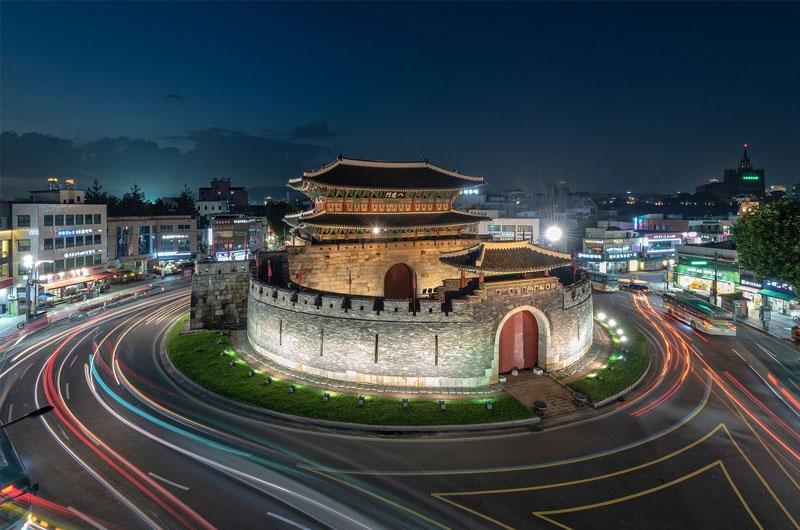 Paldalmun Gate in Suwon, South Korea