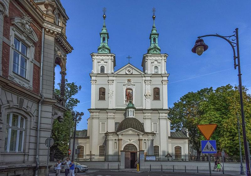 St Florian's Church in Krakow