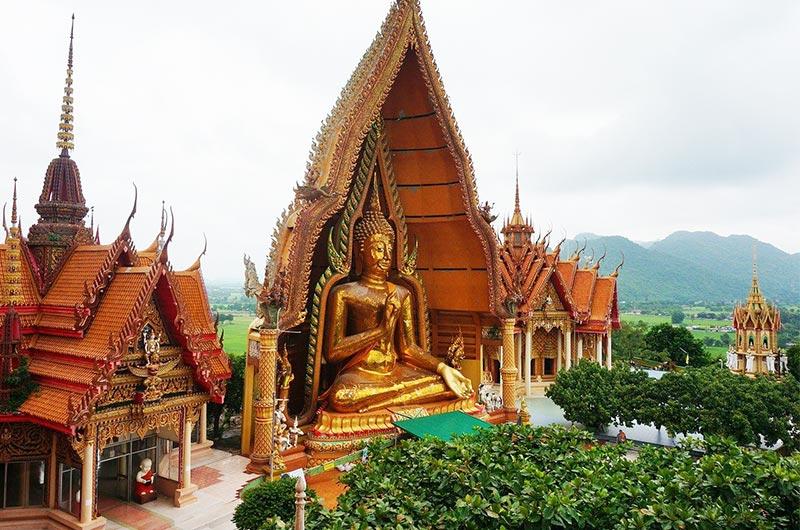 Wat Tham Sua Temple in Krabi