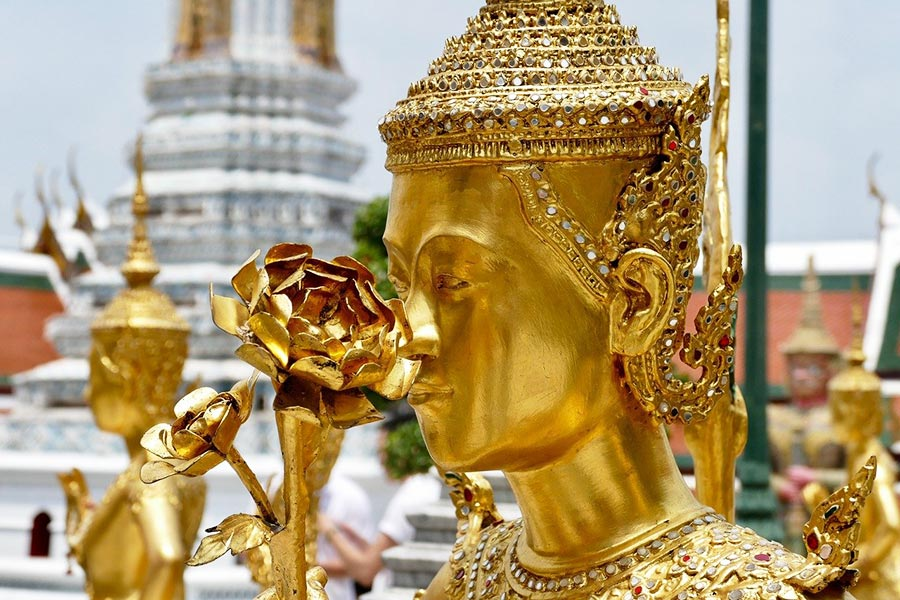 Visit Bangkok to see Golden Buddhas at Grand Palace