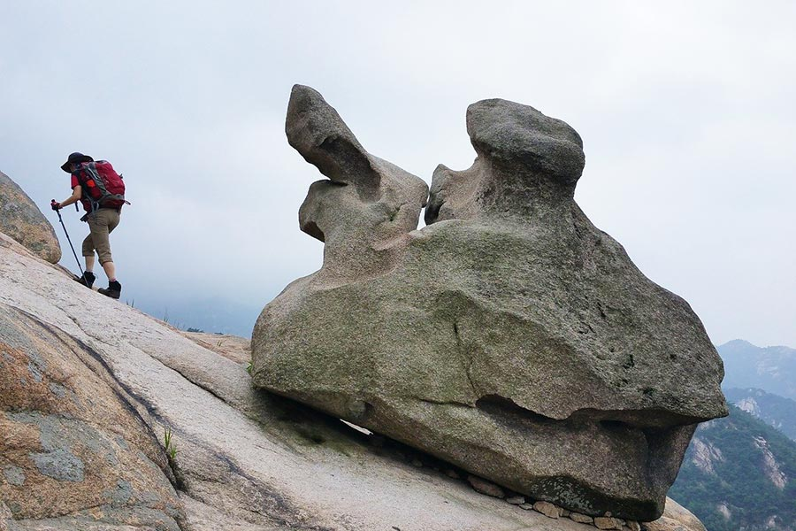 Hiking in Bukhansan National Park