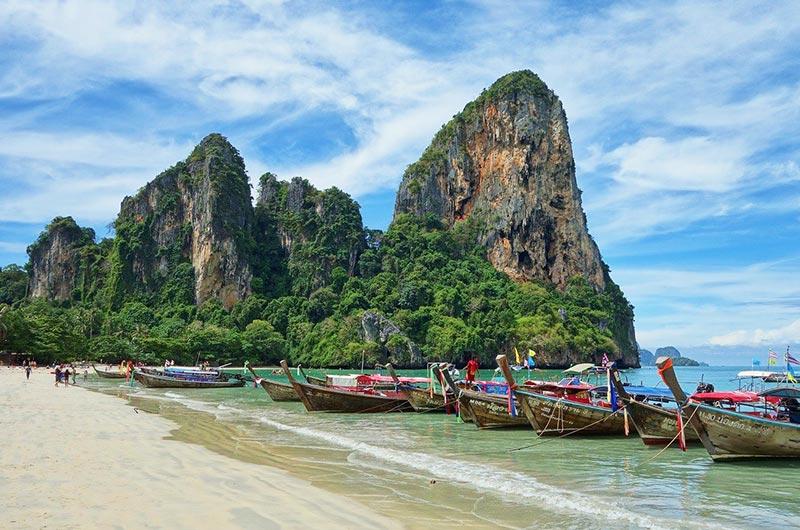 Take a day trip from Krabi to Railay Beach