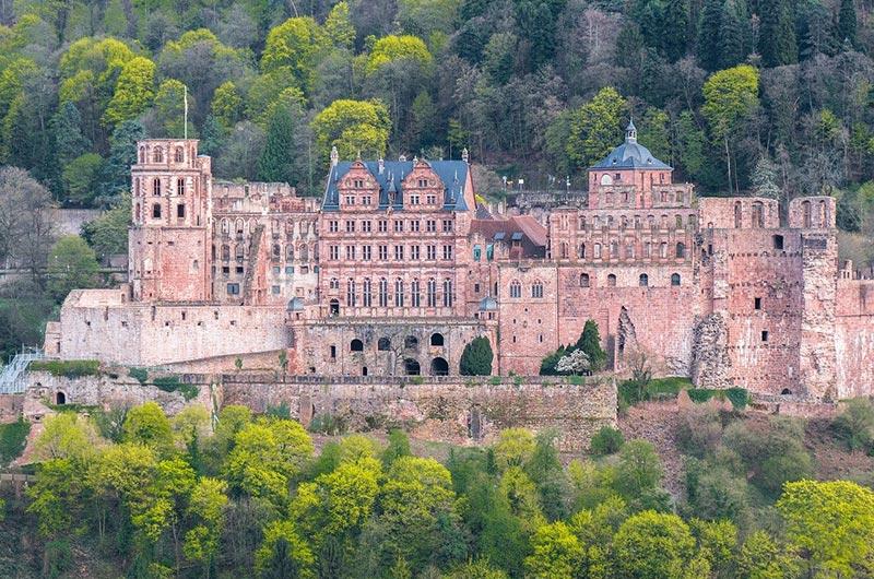 Heidelberg Palace or Schloss Heidelberg