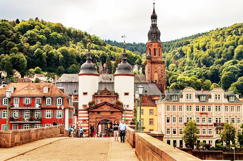 heidelberg tower old bridge