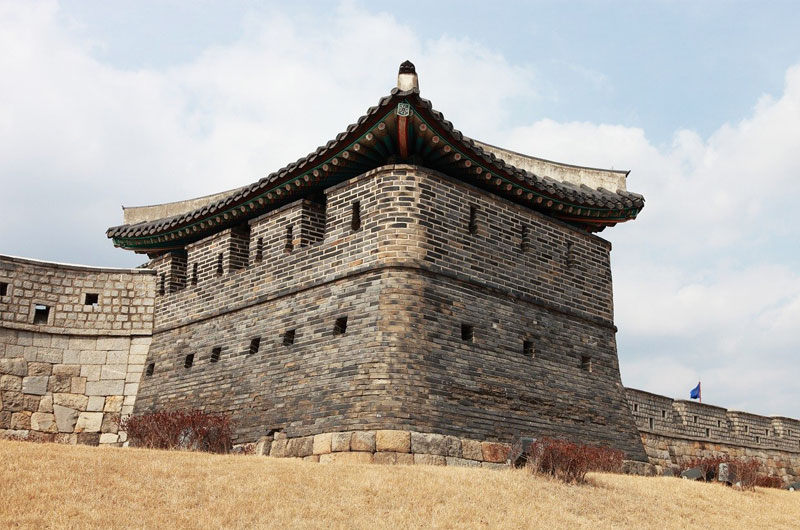Hwaseong Fortress in Suwon