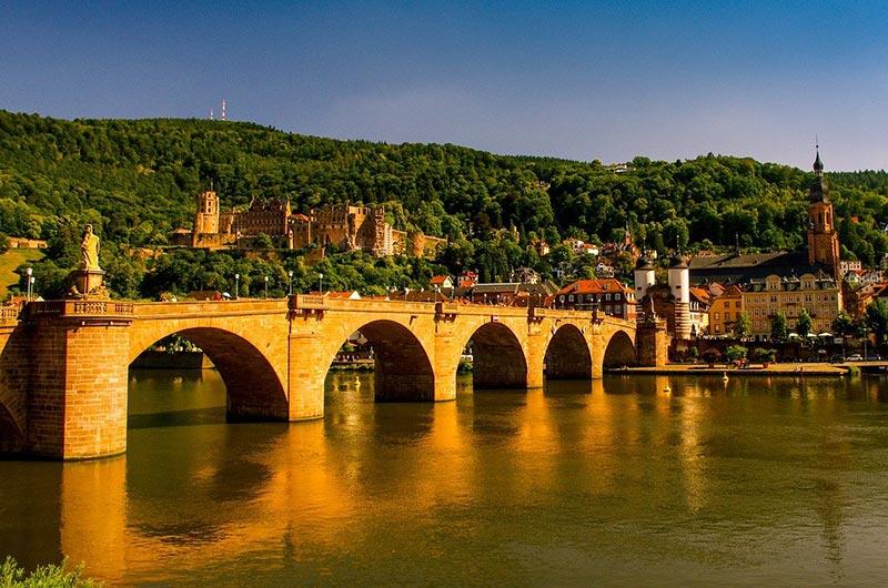 Old Bridge in Heidelberg