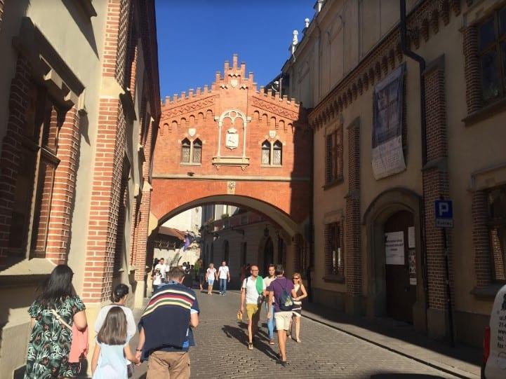 Street in Krakow