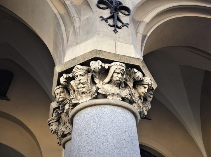 Column in Krakow
