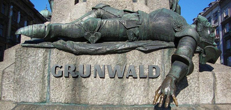 Grunwald Statue in Krakow