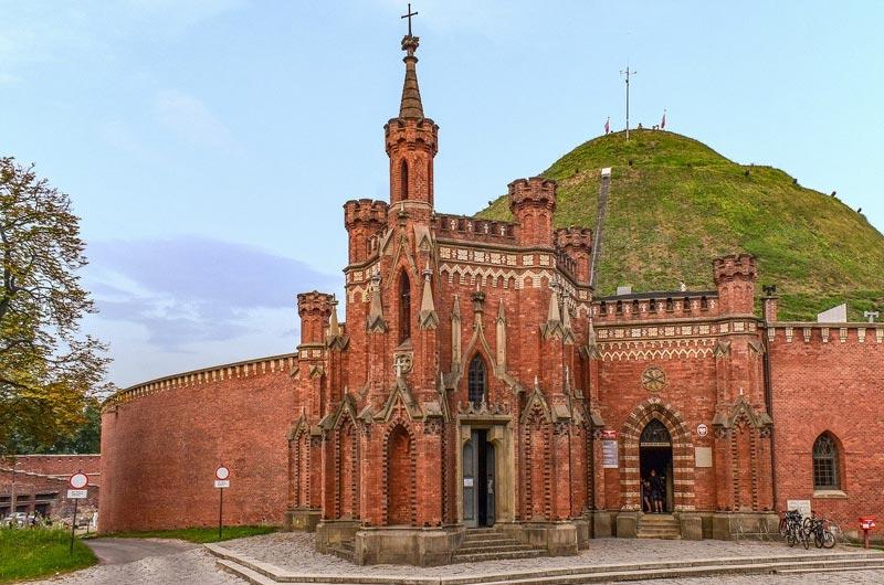 Chapel at Kościuszko Mound in Krakow