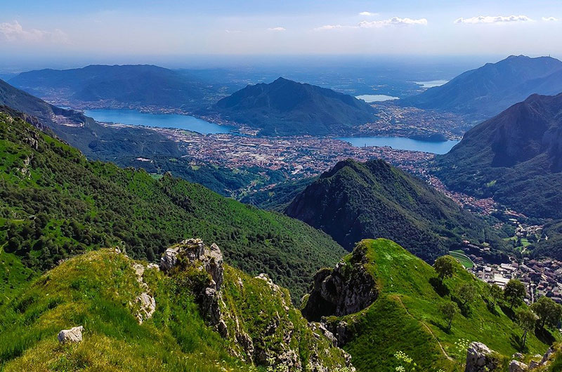 Mountains of Lecco