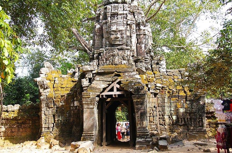 Ta Som Temple in Siem Reap