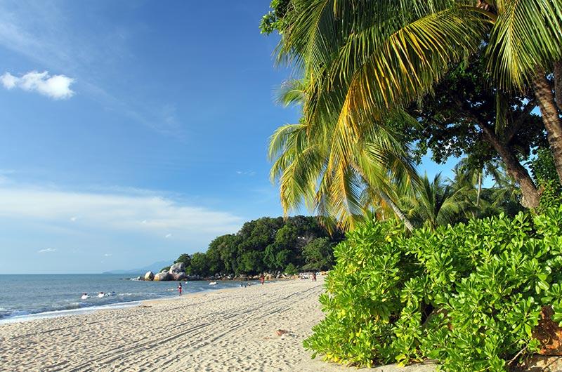 Batu Ferringhi Beach on Penang Island, Malaysia