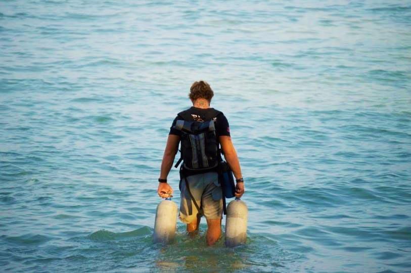 Diving in Koh-Tao