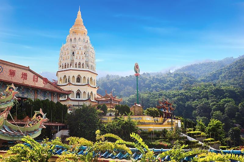 Beautiful Kek Lok Si Temple in Penang