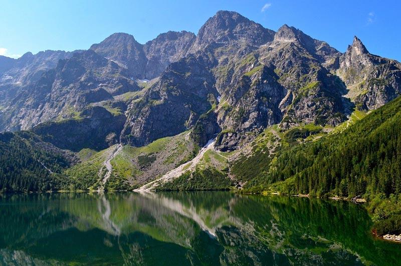 Rysy Mountain in Tatra National Park