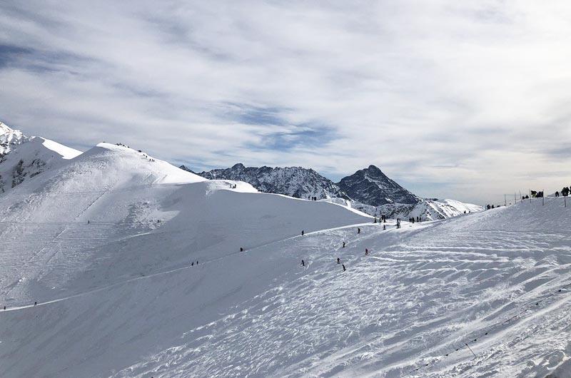 Skiing in the Tatra Mountains