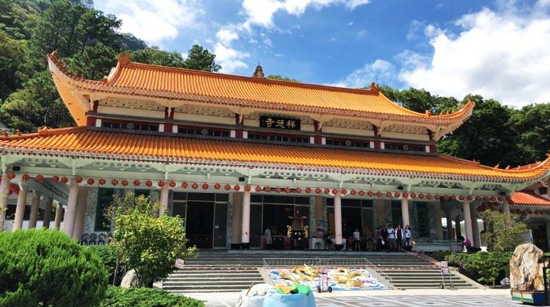 Temple at Taroko National Park