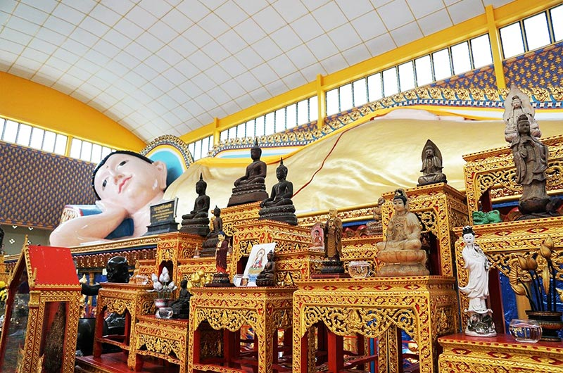 Wat Chayamangkalaram in Penang