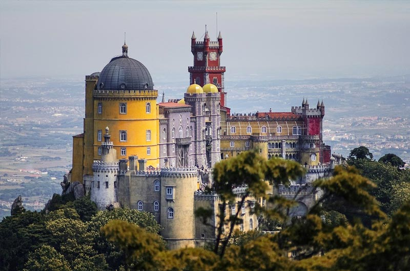 Pena Palace, one of the best things to see in Sintra
