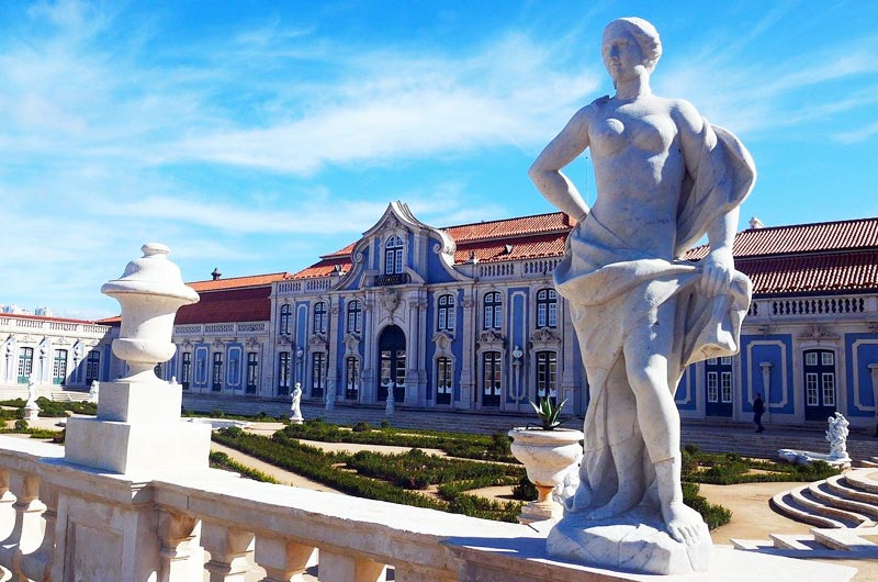 Queluz National Palace in Sintra