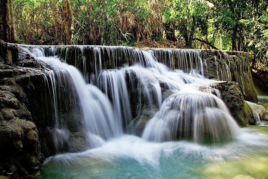 Kuang Si Waterfalls near Luang Prabang, Laos