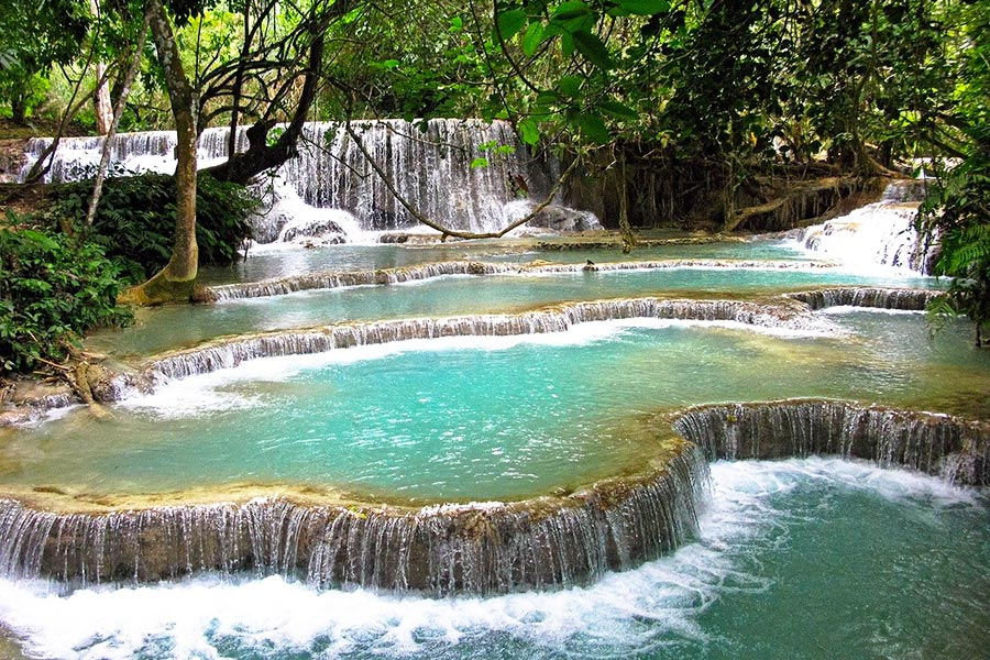 Tad Kuang Si - Best waterfalls in Laos