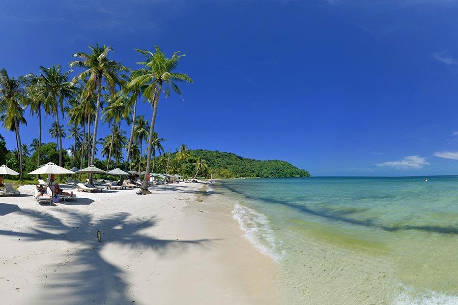 Bai Sao Beach in Phu Quoc, Vietnam