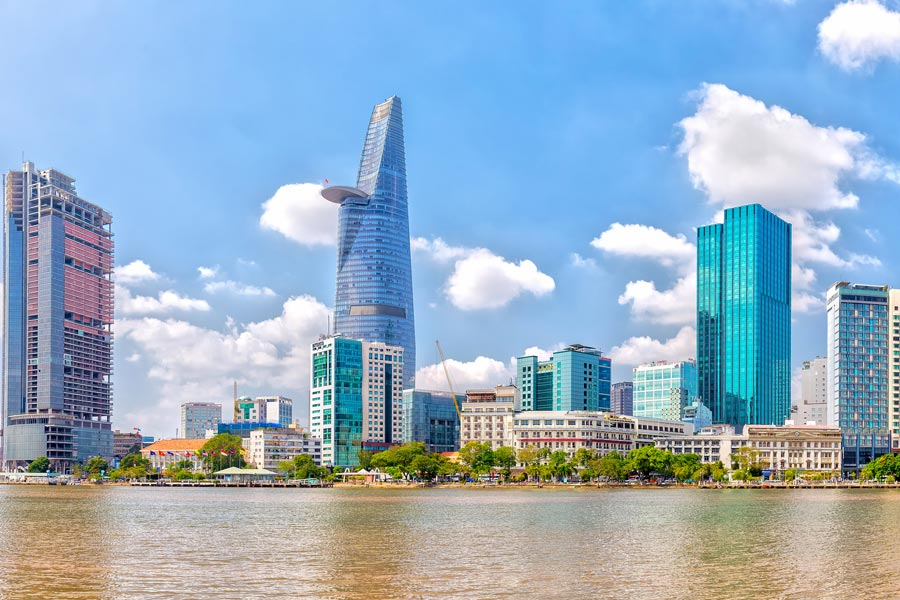 Bitexco Tower in Ho Chi Minh, Vietnam