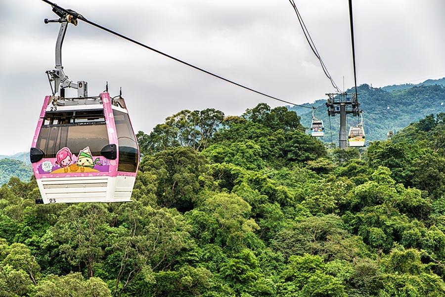 Maokong Gondola in Taipei