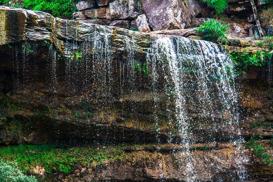 Popokvil Waterfall in Bokor National Park, Cambodia