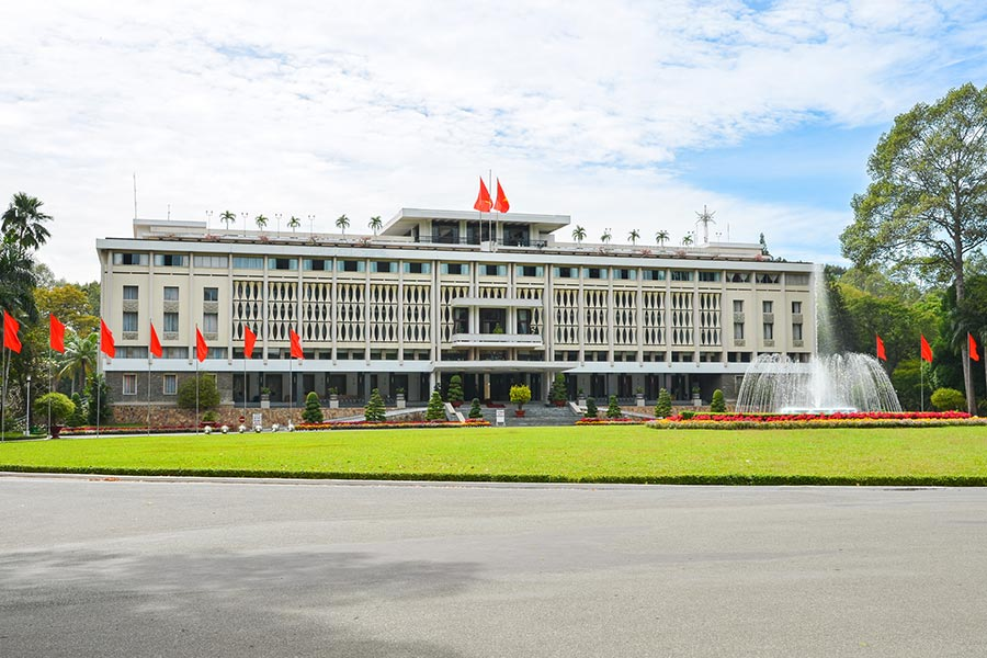 Reunification Palace in Ho Chi Minh, Vietnam