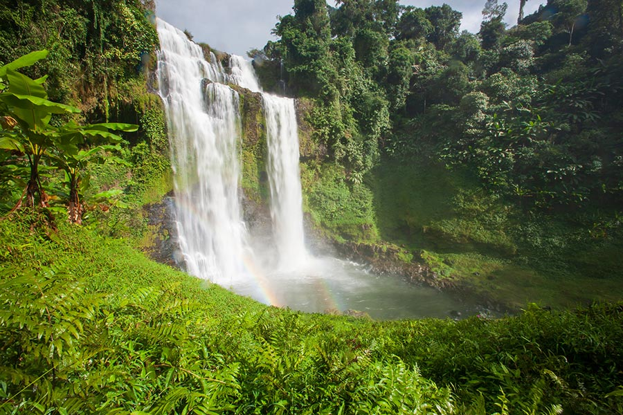 Tad Yuang Waterfalls - Bolaven Plateau, Paksong, Laos