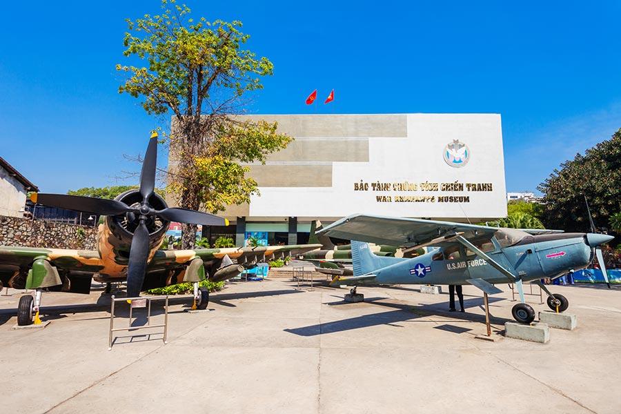 War Remnants Museum in Ho Chi Minh, Vietnam