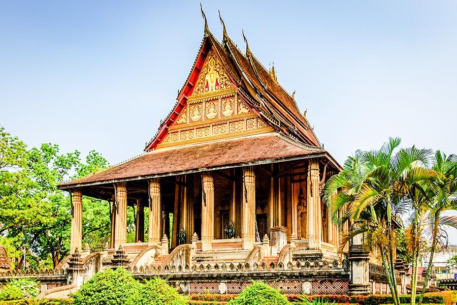 Wat Ho Phra Keo in Vientiane